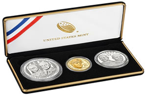 2013 5-Star Generals Commemorative Coin Three-Coin Proof Set