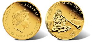 2013 Didgeridoo 1 oz Gold Proof Coin