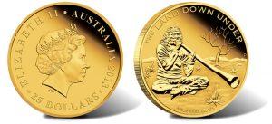 2013 Didgeridoo 1 oz Gold Proof Coin