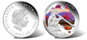 2013 Didgeridoo 1 oz Silver Proof Coin