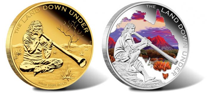 2013 Didgeridoo Gold and Silver Coins