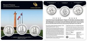 Perry's Victory Quarters Three-Coin Set