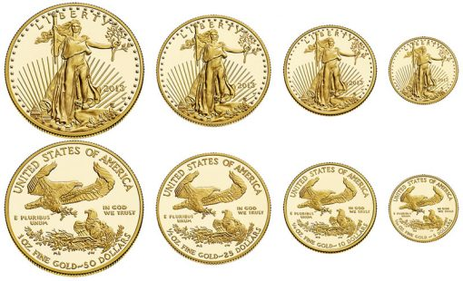 2013-W Proof American Gold Eagles