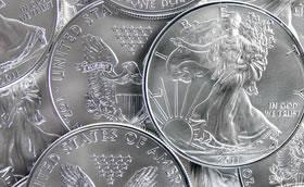 American Eagle sivler bullion coins