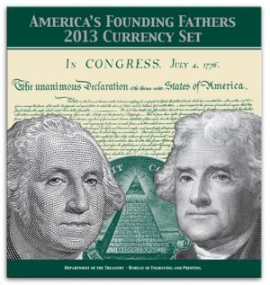 America's Founding Fathers 2013 Currency Set