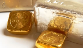 Bars of Gold and Silver