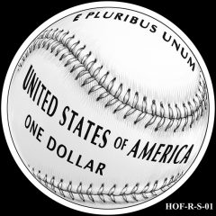 Baseball Coin Design S-01 Candidate