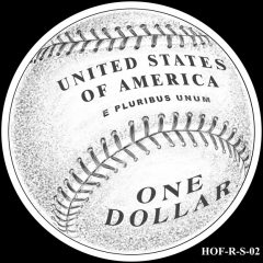 Baseball Coin Design S-02 Candidate