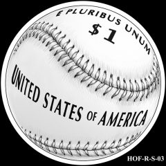 Baseball Coin Design S-03 Candidate