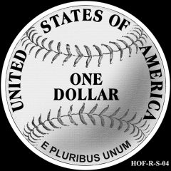 Baseball Coin Design S-04 Candidate
