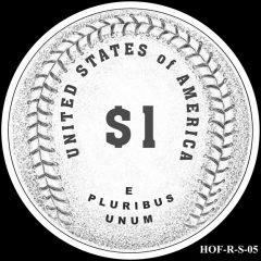 Baseball Coin Design S-05 Candidate