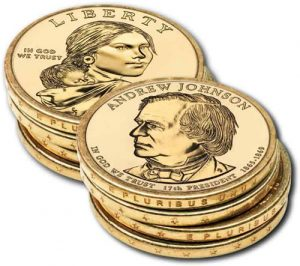 Edge-Incused Lettering on US Mint $1 Coins