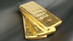 Gold bullion, Three Bars