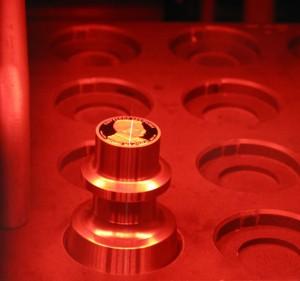 Inside Laser Frosting Machine