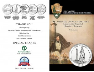 NPS Image About Perry's Victory Quarter Launch Ceremony