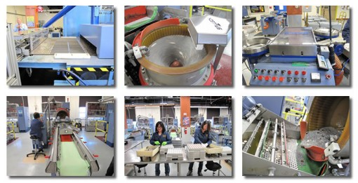 Photos of Preparing Coin Blanks for Pressing in US Mint at San Francisco