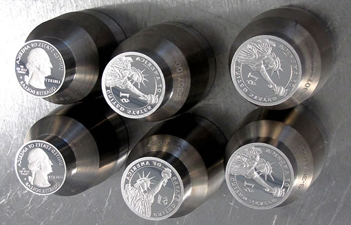Proof Coin Dies at US Mint in San Francisco