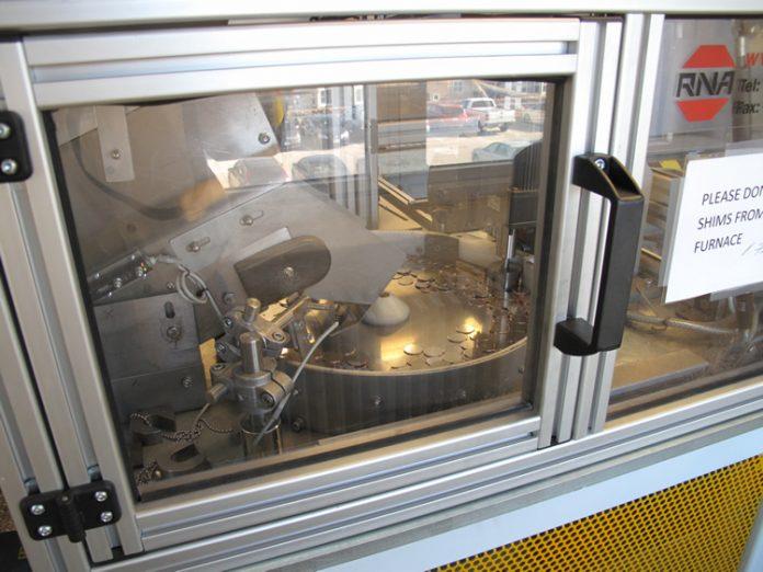 SF Mint Annealing Furnace Blank Feeder