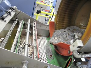 SF Mint Burnishing Mill, Bowl Tipping