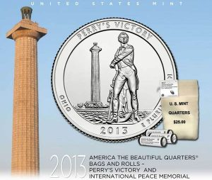 US Mint Promotion Image of Perry's Victory Quarter Products