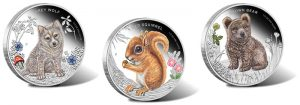 2013 Forest Babies 1/2 Oz Silver Proof Coins Launch