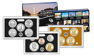 2013 Silver Proof Sets at 166,710 in Debut Sales