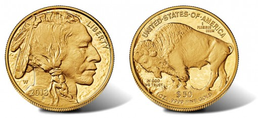 2013-W $50 American Buffalo One Ounce Gold Proof Coin