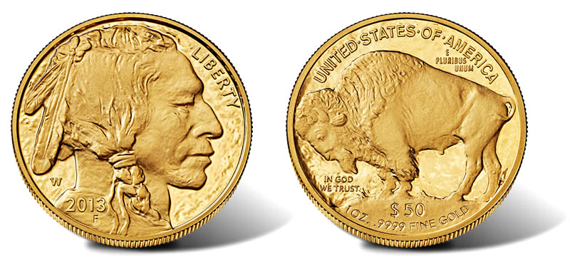 2017 W 50 Proof American Gold Buffalo