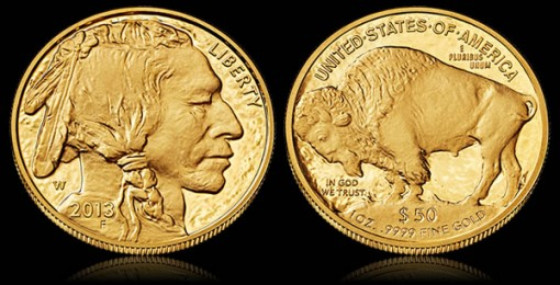 2013-W Proof American Buffalo Gold Coin
