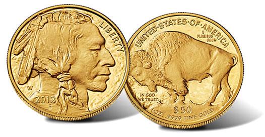 2013-W Proof Gold Buffalo