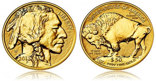 2013-W Reverse Proof American Buffalo Gold Coin