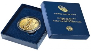 2013-W Uncirculated American Gold Eagle