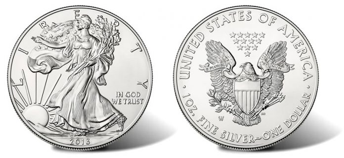 2013-W Uncirculated American Silver Eagle Coin