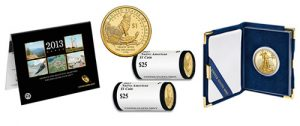 ATB Quarters Uncirculated Set, Native American Dollars and Proof Eagle Gold Coin