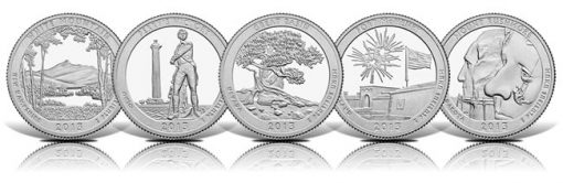 America the Beautiful Coins for 2013