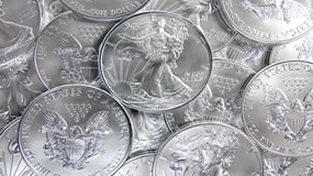 Gold Edges Higher, Silver Eagle Bullion Coins Top 19M