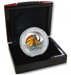 Case for 2013 Frilled Neck Lizard Silver Proof Coin