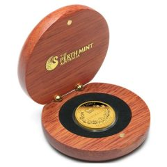 Case for 2013 Proof Australian Gold Sovereign Coin
