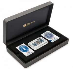 Case for Silver Proof Coin and Stamp Set