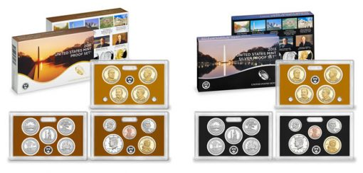 Clad and Silver 2013 Proof Sets