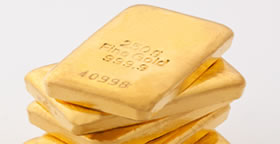 Pile of Gold Bullion