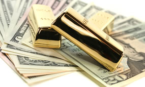 US Money and Gold