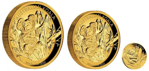 2013 Australian Koala Gold Proof Coinss