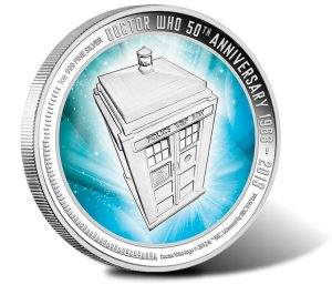2013 Doctor Who 50th Anniversary Coin