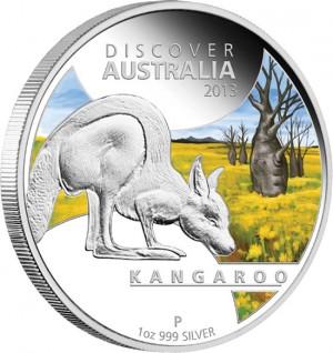 2013 Kangaroo Silver Proof Coin