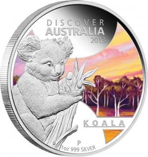 2013 Koala Silver Proof Coin