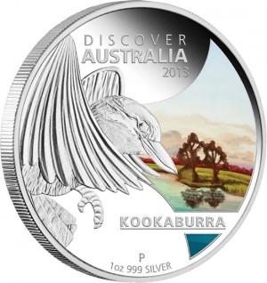2013 Kookaburra Silver Proof Coin
