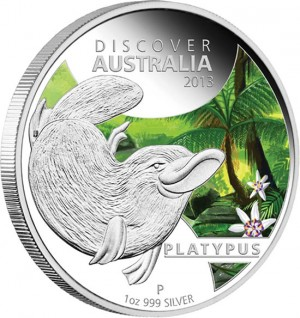 2013 Platypus Silver Proof Coin