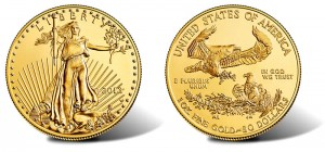 2013-W Uncirculated American Gold Eagle Sold Out