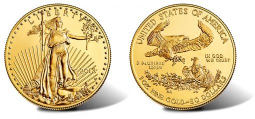 2013-W $50 Uncirculated American Gold Eagle